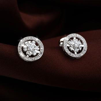 Allencoco zircon earring 2080064002