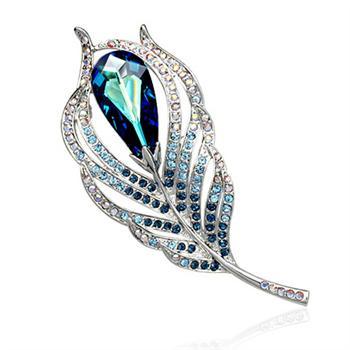 Allencoco crystal brooch 500432