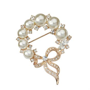 Austrian crystal brooch 350398