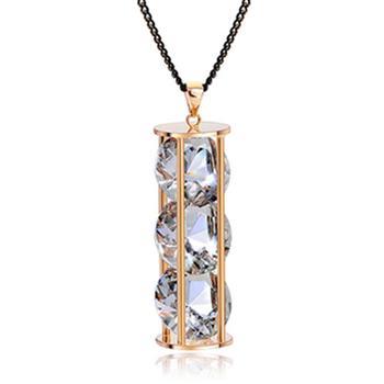 Allencoco  crystal long necklace 6000603...