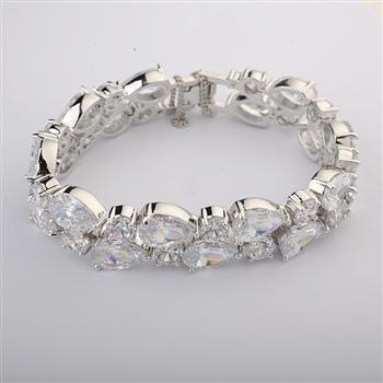 Allencoco zircon bracelet 40300136