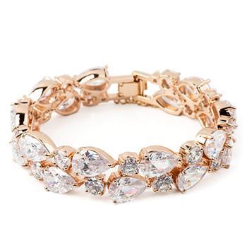 Allencoco zircon bracelet 4030016