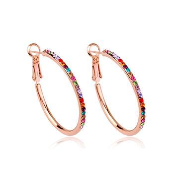 Ausrian crystal earring 83715