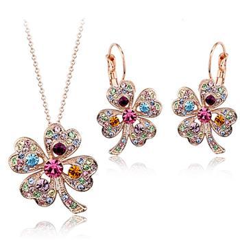 Fashion Austrian crystal jewelry set 134...