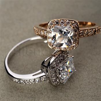 Allencoco zircon ring    10267