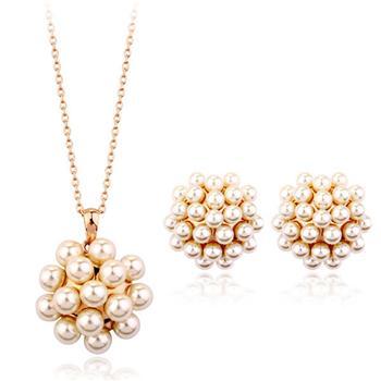 Italina Rigant pearl jewelry set 220668