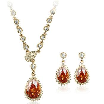 Austrian crystal fashion jewelry set 212...