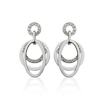 Austrian crystal earring 124682