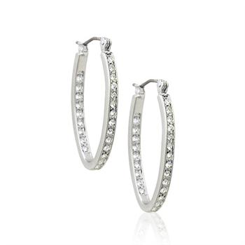 Crystal jewellery earring 123070