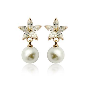 fashion pearl earring 85963