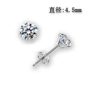 Fashion pure silver earring 710288