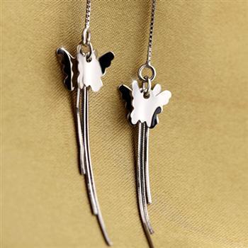 Fashion silver earrings 630804