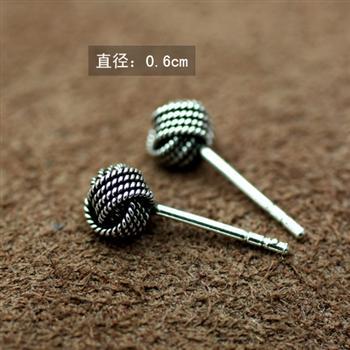 Fashion silver earrings 810031