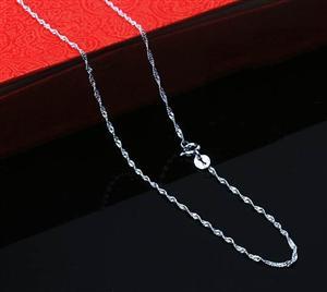 45 silver chain 004118