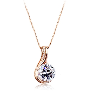 Italina zircon necklace  135084
