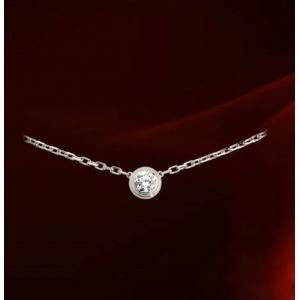 Italina Rigant elegant necklace with large diamond  860552