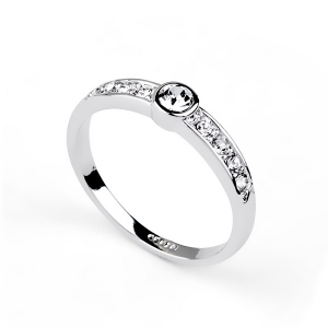 Italina fashion jewelry diamond ring with good quality 110505