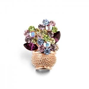 Italina crystal brooch 51517