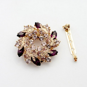 Fashion  Scarf clips /brooch 20651