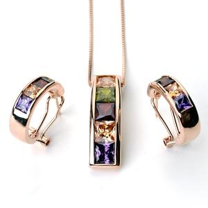 Italina fashion jewelry set 220756