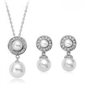 Austrian crystal necklace 220584