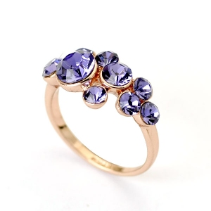 Austrian crystal ring 95918