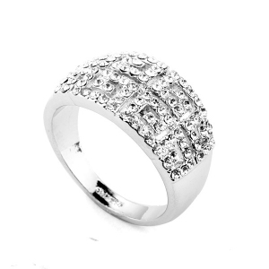 Austrian crystal ring 310543