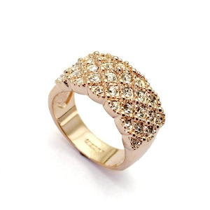 Austrian crystal ring 113639