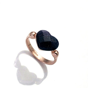 Austrian crystal ring 95504