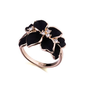 Austrian crystal ring 95676