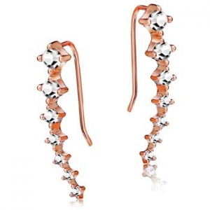 Allencoco Zirconia Earrings 1255970001