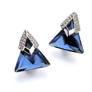 Italina triangle crystal earring 1256860702