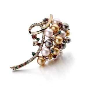 Italina pearl brooch 537110036
