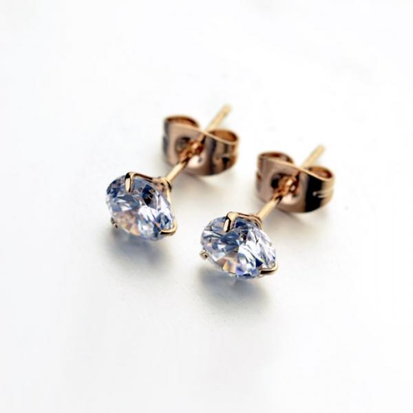 R.A zircon earring 1232390001