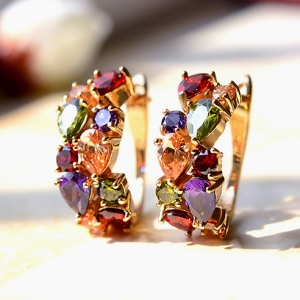 Austrian crystal earring 321431