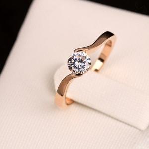 R.A zircon ring 1115940001