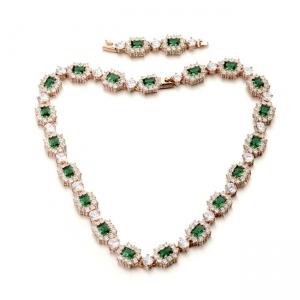 Austrian crystal necklace 200852