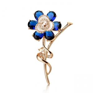 R.A flower brooch 145734