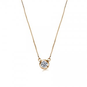 Rigant zircon necklace  061703
