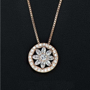 R.A Zircon necklace 3314006001