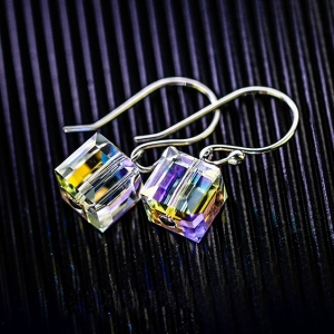 925 silver crystal earring  1887740