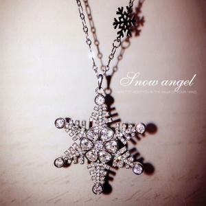 Allencoco zircon necklace 60038002