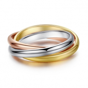 Italina fashin ring(Rose gold)  91071