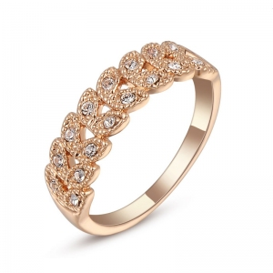 Austrian crystal ring  95683
