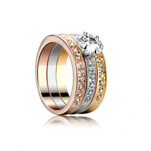 Austrian crystal ring 114773