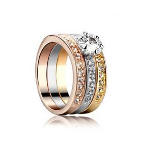 Austrian crystal ring 114773