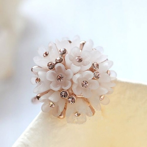 Rigant flower ring 96581