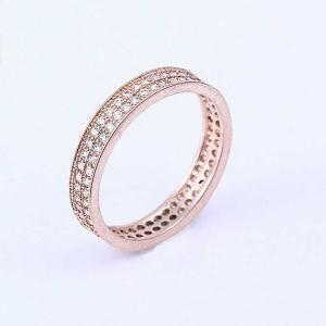 Allencoco Simple zircon ring 10341036