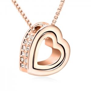 Allencoco heart necklace 3502602