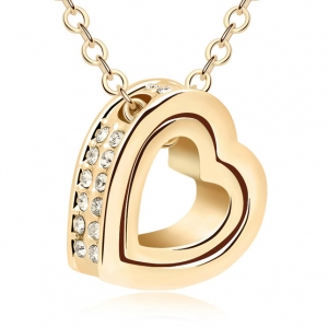 Allencoco heart necklace 3502602